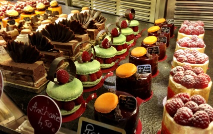French desserts, too many to choose from!