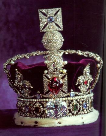 Imperial State Crown and the Koh-i-Noor diamond