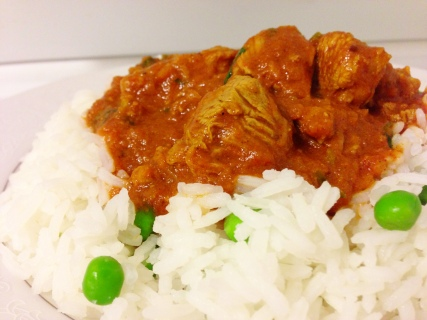 Nirav's lamb curry