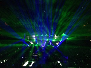 Breathtaking lights show at the JT 20/20 concert